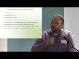 Evaluating your services and providing the business case for sustainability James Mahon