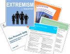 Extremism Radicalisation Resources