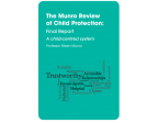 Munro review of Child Protection pic