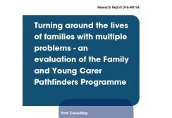 Evaluation of the family and young carer pathfinders programme