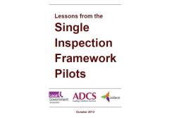 Lessons from the Single Inspection Pilots